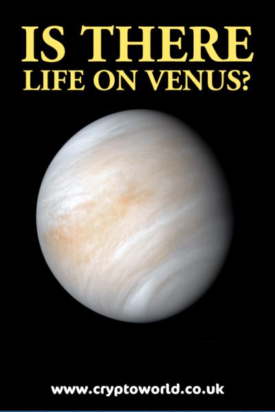 Hints of life on Venus?