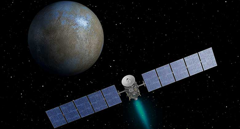 Ceres / Dawn - artists impression