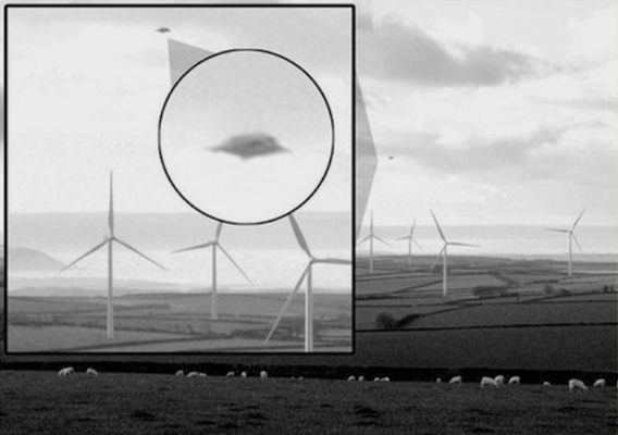 UFO spotted over Devon UK