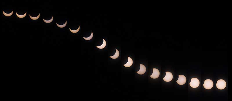 (c) Cyril Vallée 2015 solar eclipse as seen from home, Switzerland.