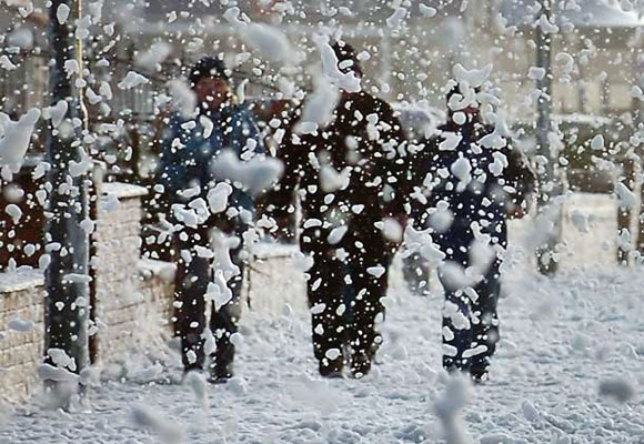 Crazy Foam is Snow Joke!