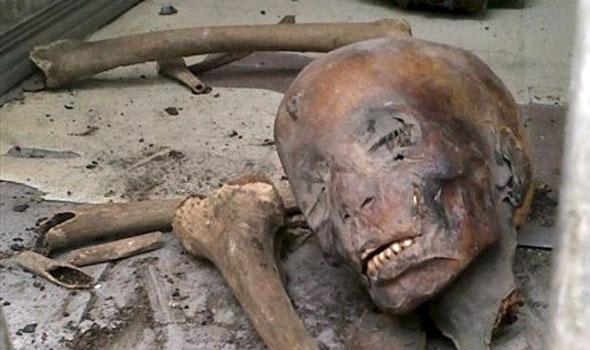 Damaged Mummies