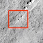 Martian pit feature discovered by California 7th graders