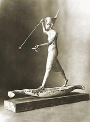 Tutankhamun harpooning. (Photo: Griffith Institute)