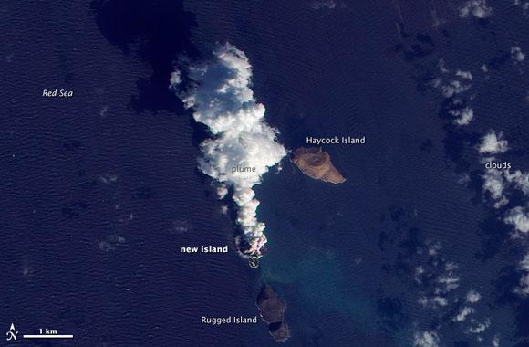 New Island among the Zubair archipelago
