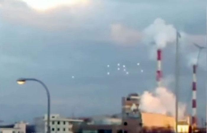 Osaka City UFOs