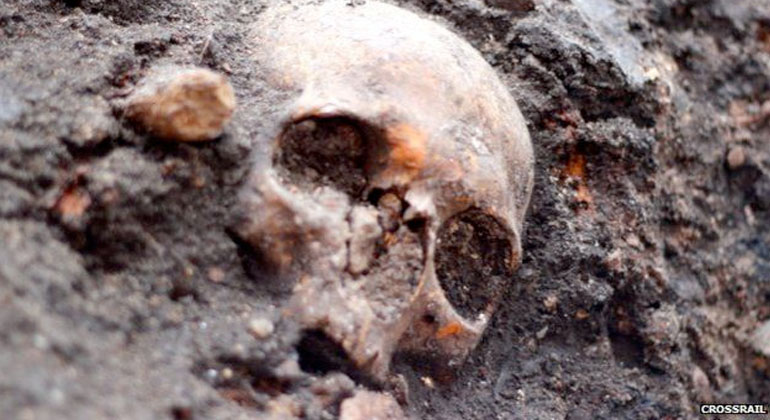 More than 400 skeletons and numerous artefacts have previously been uncovered