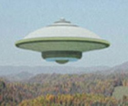 "Not Iran's ""flying saucer"""